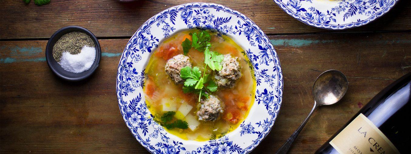 Albondigas Meatball Soup